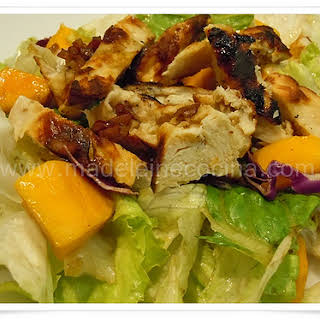 Chicken Mango Salad.
