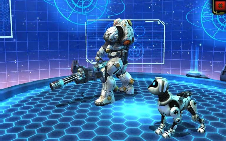 android Evolution: Battle for Utopia Screenshot 14