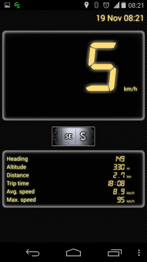 GPS Speedometer Free- screenshot