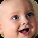 Bebê Som Risos agitação icon