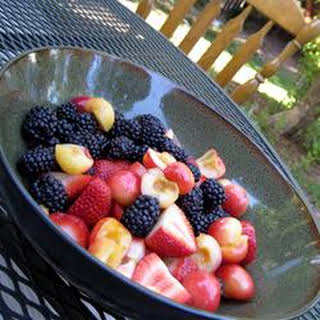 Rainbow Fruit Salad.