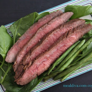 Mexican- Marinated Flank Steak.