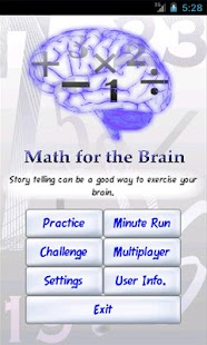 Math For the Brain - screenshot thumbnail