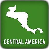 Central America GPS Map