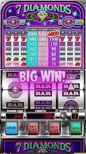 Seven Diamonds Deluxe : Vegas Slot Machines Games - náhled