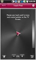 Screenshot of LG TV Remote