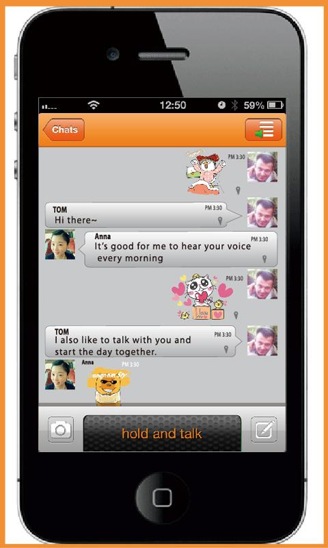 Download the Emoticons for Voxer Android Apps On NoneSearch com