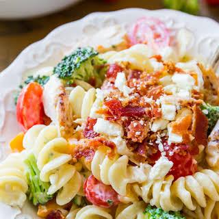 Creamy Chicken Pasta Salad.