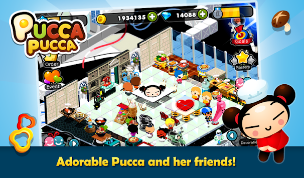 Pucca Pucca apk screenshot