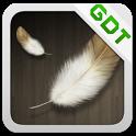 Fuzzy Birdy GO Getjar Theme icon