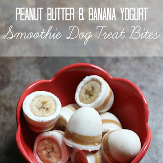Peanut Butter & Banana Smoothie Bon Bon Bites