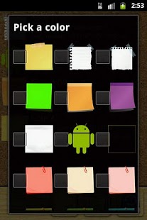 Quick Note sticky note widget- screenshot thumbnail