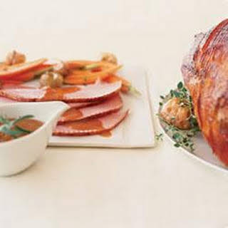 Wisconsin Maple & Clover Honey Glazed Ham.