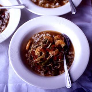 Acadian Seafood Gumbo.