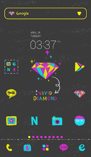 비비드 다이아몬드 도돌런처 테마