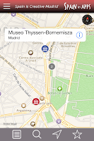 Screenshot of Spain is Creative Madrid