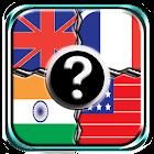 National flag quiz icon