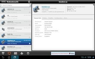 Screenshot of Spiceworks Mobile HD