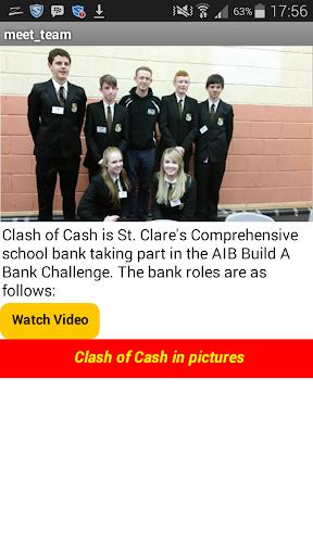 Clash of Cash- the app