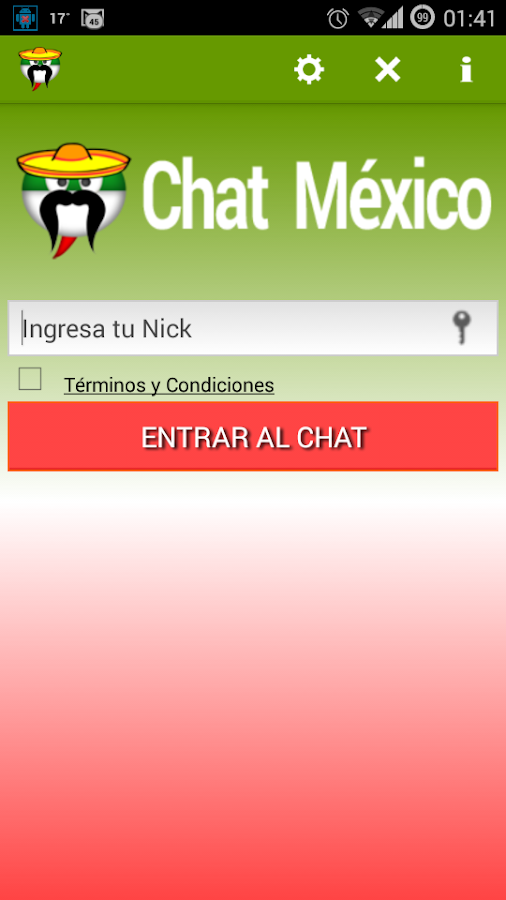 mexico chat Welcome to video chat mexico [goldvideochat] is the best chatroulette and video chat mexico alternative have fun chatting with people from all over the world free video chat in which you can do the following things: - chat for free with all kind of people to specify it, go to 'settings.