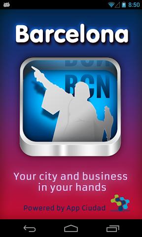 Screenshot 1 App Barcelona Guía Barcelona