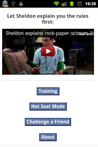 RockPaperScissors Lizard Spock - screenshot