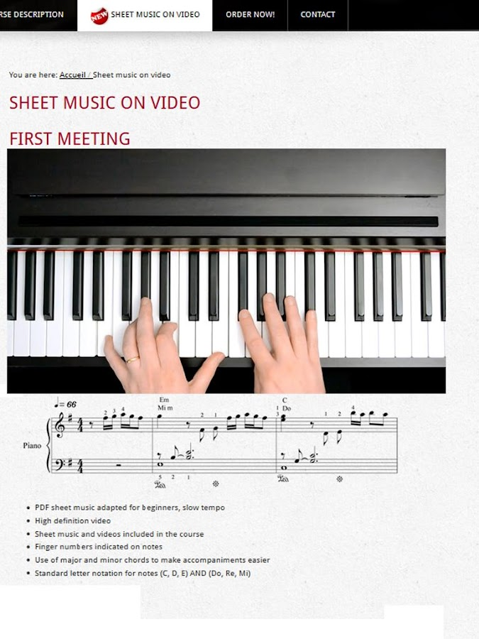 piano lessons android apps on google play. Black Bedroom Furniture Sets. Home Design Ideas