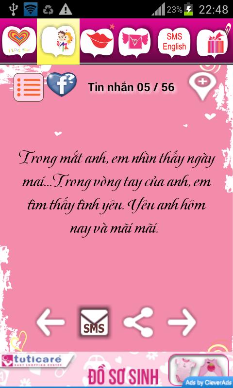 Tin Nhắn Tình Yêu - screenshot