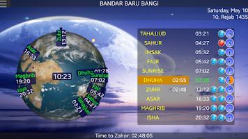 Screenshot of SOFTnet Solat Times