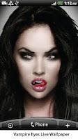 Screenshot of Vampire Eyes Live Wallpaper