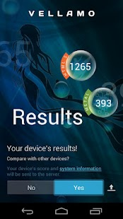 Vellamo Mobile Benchmark - screenshot thumbnail