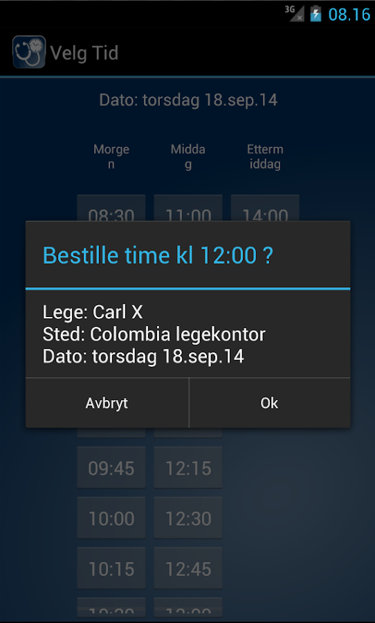 legetime- screenshot