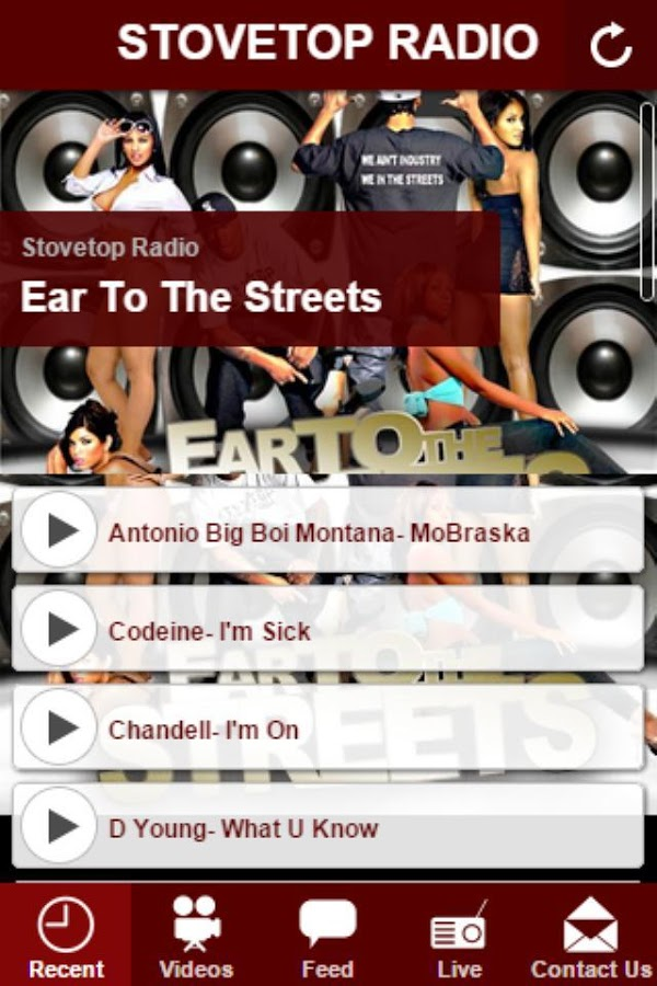 Stovetop Radio- screenshot