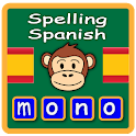 Learn Spanish words, spelling icon