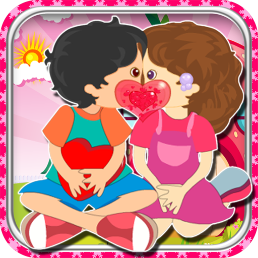 Fun Game-Kids Apple Kiss 休閒 App LOGO-硬是要APP