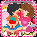 Fun Game-Kids Apple Kiss icon
