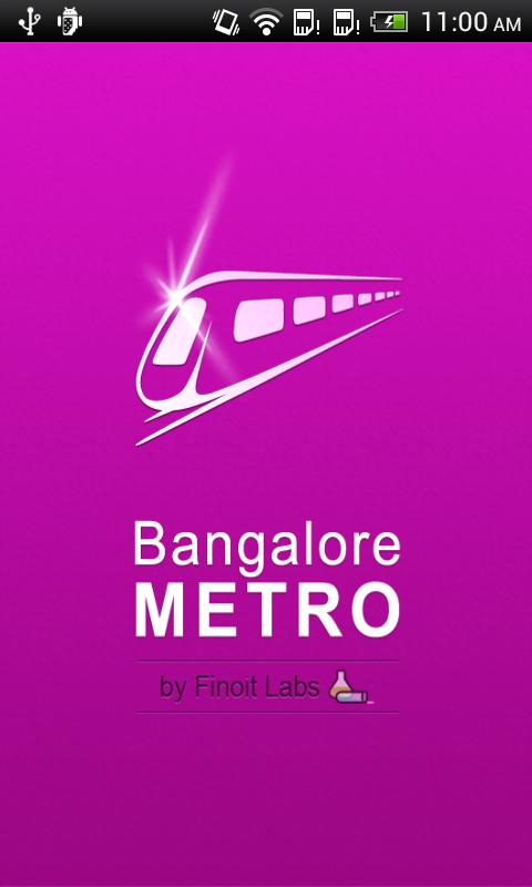 Bangalore Metro - screenshot