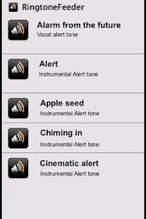 Alarm and Alert Tones- screenshot thumbnail