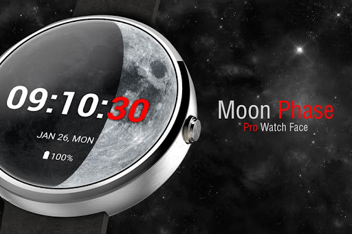Moon Phase PRO - Watch Face