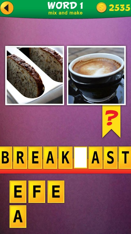 2 Pics 1 Word: Mix Pics Puzzle- screenshot