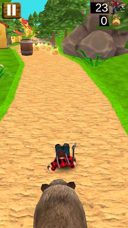 Danger Runner 3D Bear Dash Run 1.5 screenshot 1646801