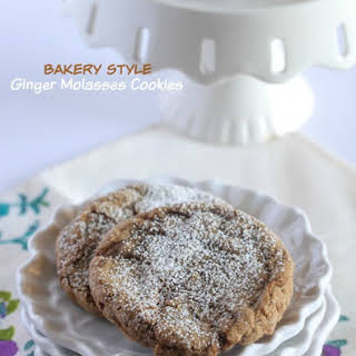 Bakery Style Ginger Molasses Cookies.
