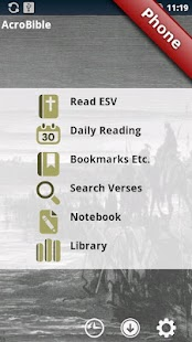 AcroBible ESV- screenshot thumbnail