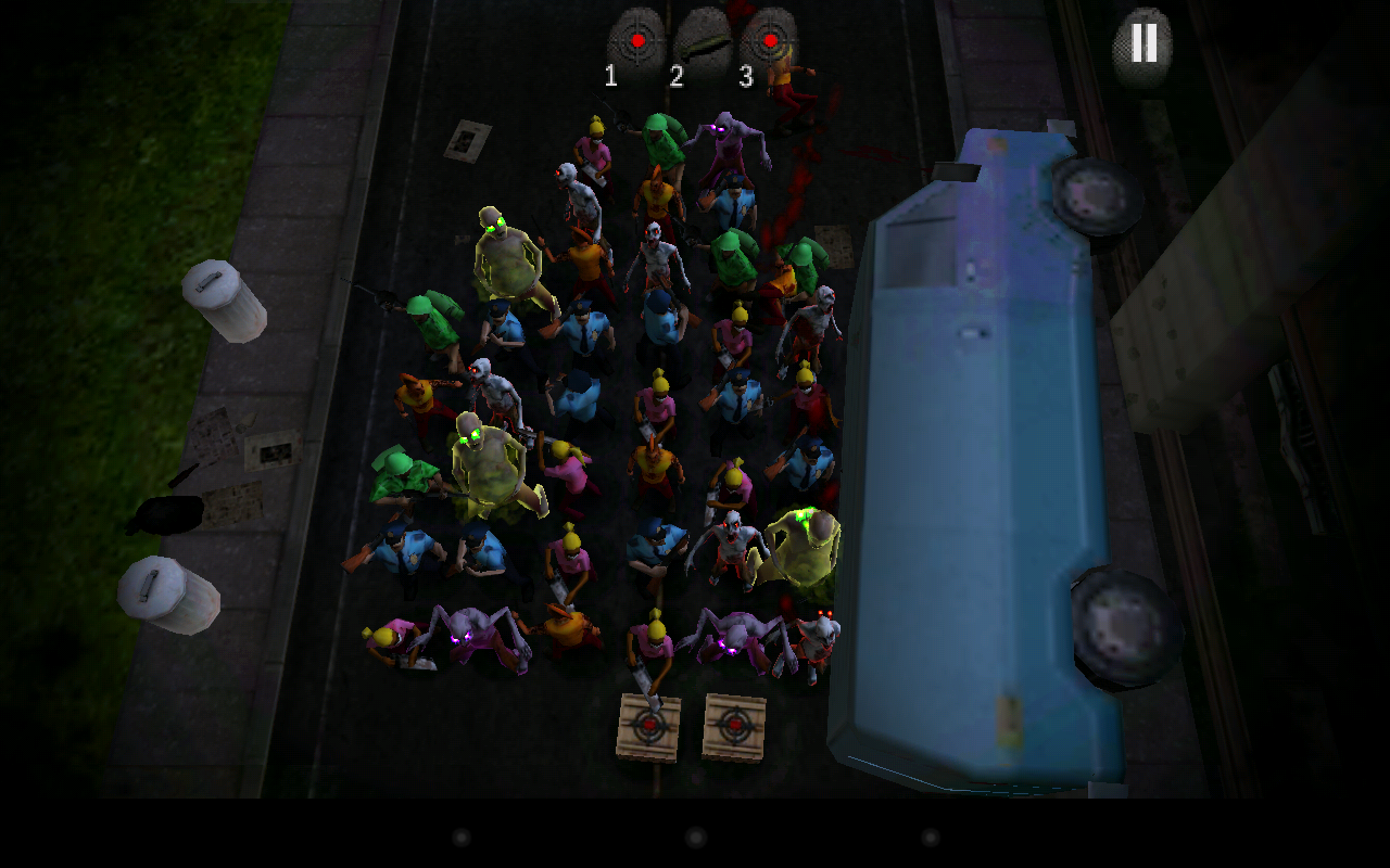 Containment The Zombie Puzzler - screenshot