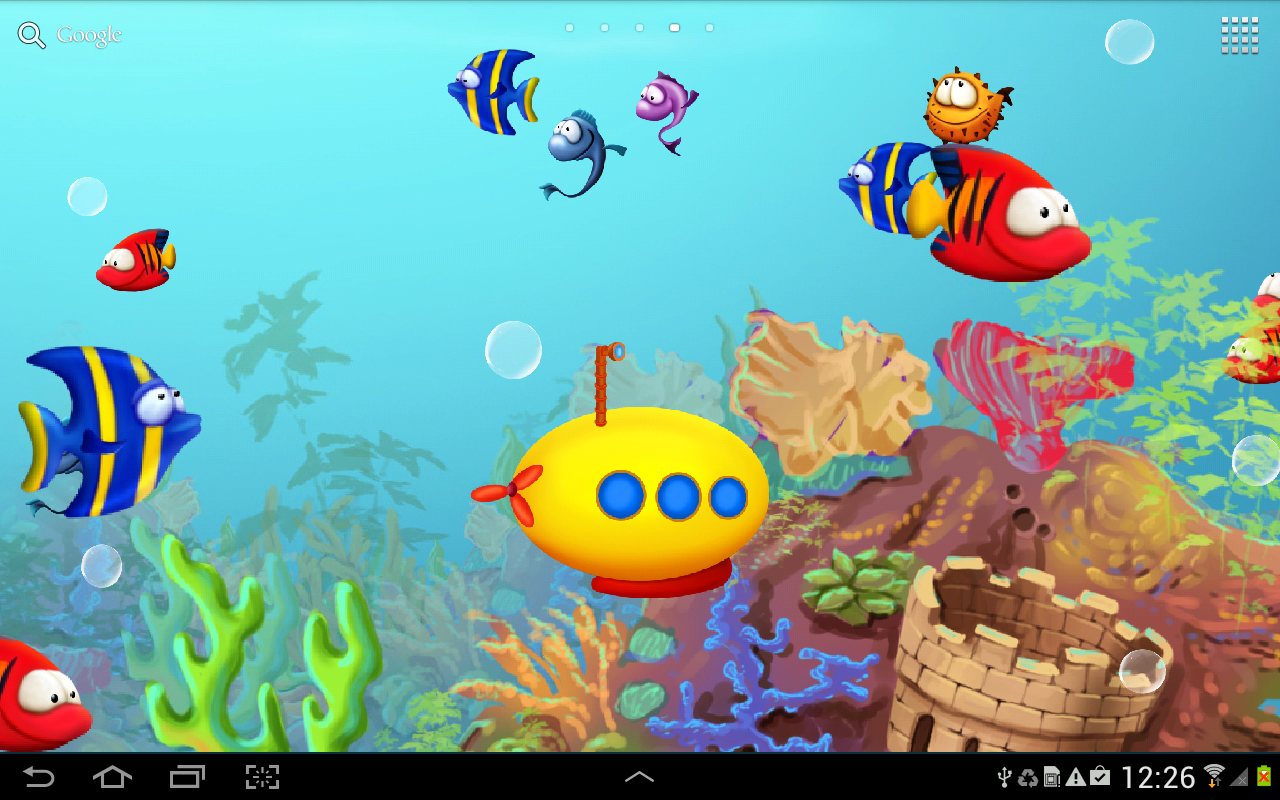 Fish Tank 3D Live Wallpapers Photos