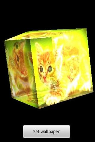 3D cute cat 7 - screenshot