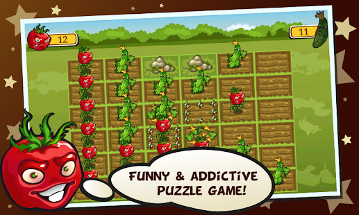 Garden Troopers - puzzle game