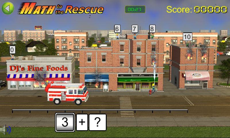 Math to the Rescue Game- screenshot