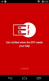 EFF Alerts Screenshot 2