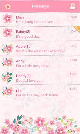 download go sms pro honey theme ex google play softwares